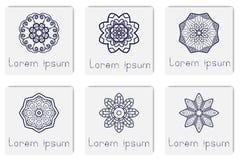 Islamische Mandala auf Hintergrund lizenzfreie stockfotografie