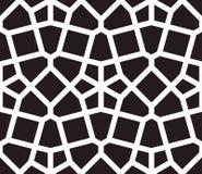 Islamischer angespornter nahtloser Mustervektor Stockfotos