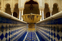 Islamischer Garten Stockbild