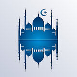 Islamischer Hintergrundvektor stock abbildung