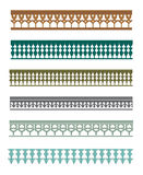 Islamisches Blumen- und Verzierung 3 Stockbilder
