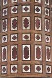 islamisk arkitekturdetalj Arkivfoto