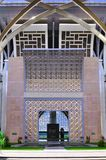 islamisk arkitekturkonstdetalj Arkivfoto