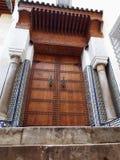 Islamisk dörröppningsdetalj Royaltyfri Foto