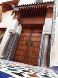 Islamisk dörröppningsdetalj Fotografering för Bildbyråer