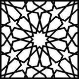 Islamisk geometrisk fyrkantig modelltextur Art Design Royaltyfria Bilder