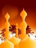 islamisk illustration vektor illustrationer