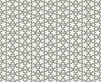 Islamisk inspirerad sömlös modellvektor Arkivbilder