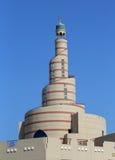 Islamisk konstmitt Doha, Qatar Arkivbild