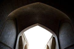Islamisk korridor Arkivfoton