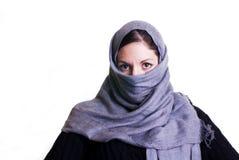 islamisk kvinna Arkivfoto