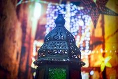 islamisk lykta Arkivbilder