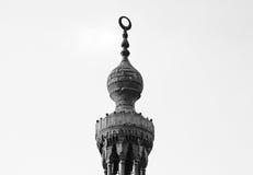 Islamisk minaret Arkivfoton
