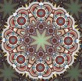 islamisk modell Arkivfoto