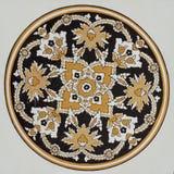 Islamisk modell i moské arkivfoto