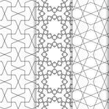 Islamisk modelluppsättning Royaltyfri Bild