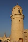 Islamisk moské Doha, Qatar Arkivbilder