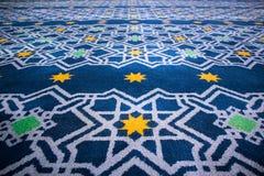 Islamisk prydnaddesignbakgrund royaltyfria bilder