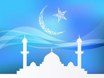 Islamisk temabakgrund Arkivbilder