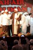 Islamiska andliga ledare Arkivbild