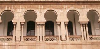 islamiska fönster fotografering för bildbyråer
