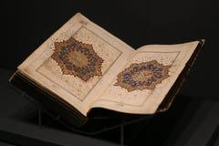 Islamiska Holly Book Quran Arkivfoto