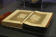 Islamiska Holly Book Quran Royaltyfria Foton
