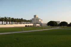 Islamiska Muséum i Doha arkivbilder