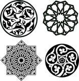 islamiska prydnadar Fotografering för Bildbyråer