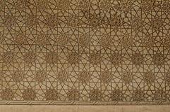 Islamiska prydnadar på en vägg Royaltyfri Foto