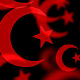 Islamiska symboler Arkivbilder