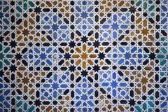 islamiska tegelplattor royaltyfria bilder