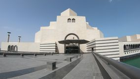 islamiskt museum f?r konst stock video