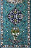 islamiskt tegelplattaarbete Royaltyfria Foton