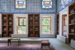 Islamitisch binnenland in Paleis Topkapı royalty-vrije stock foto
