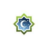 Islamitisch embleem Royalty-vrije Stock Foto