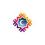 Islamitisch embleem Stock Foto