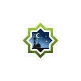 Islamitisch embleem Royalty-vrije Stock Foto's