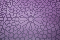Islamitisch Geometrisch Patroon Stock Foto