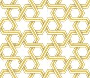 Islamitisch Geometrisch Vectorpatroon royalty-vrije illustratie