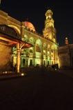 Islamitisch Kaïro bij nacht. Stock Fotografie