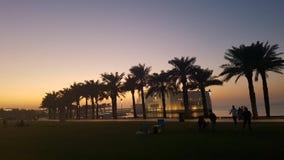 Islamitisch Kunstenmuseum in Doha Royalty-vrije Stock Foto's