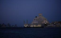 Islamitisch museum bij nacht Royalty-vrije Stock Afbeelding