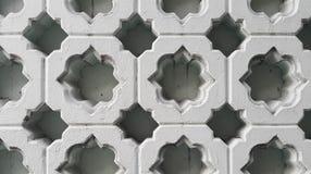 Islamitisch patroon op gesneden blokken royalty-vrije stock afbeelding