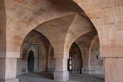Islamitische architectuur, jami masjid, mandu, madhya pradesh, India Stock Afbeeldingen