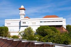 Islamitische Culturele Centrum en Moskee van Madrid Royalty-vrije Stock Afbeeldingen