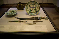 Islamitische de kunsttentoonstelling van British Museum stock afbeeldingen