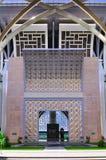 Islamitische kunst en detailarchitectuur Stock Foto