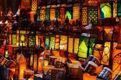 Islamitische kunst van licht Stock Fotografie