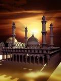 Islamitische moskee vector illustratie